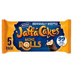 McVitie's Jaffa Cakes 5 Zesty Orangey Mini Rolls