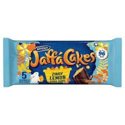McVitie's Jaff Cakes 5 Zingy Lemon Cake Bars