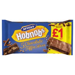 McVitie's Hobnobs 5 Slices Topped with Milk Chocolate 114.1g