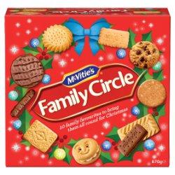 McVitie's Family Circle 670g