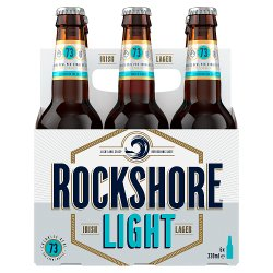 Rockshore Light Lager 6 x 330ml Bottle
