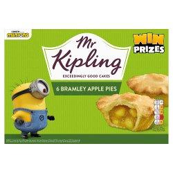 Mr Kipling 6 Bramley Apple Pies