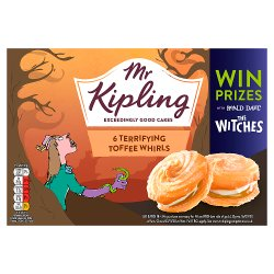 Mr Kipling Terror Toffee Whirls