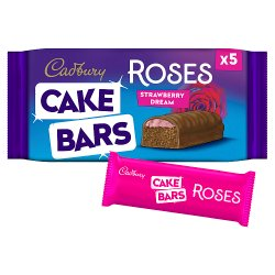 Cad Roses Cake Bars Strawberry