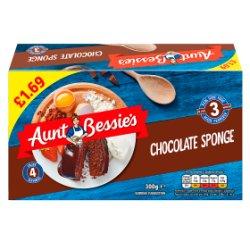 Aunt Bessie's Chocolate Sponge 300g