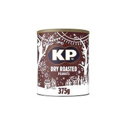 KP Dry Roasted Peanuts Tin 375g