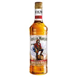 Captain Morgan Original Spiced Gold Rum Based Spirit Drink 70cl PMP £14.79