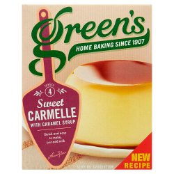 Green's Sweet Carmelle with Caramel Syrup 70g