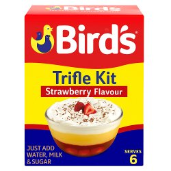 Bird's Strawberry Flavour Trifle Mix 141g
