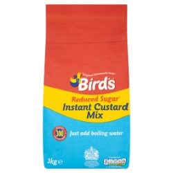 Bird's Reduced Sugar Instant Custard Mix 3kg