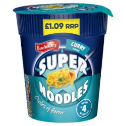 Batchelors Super Noodles Pot Curry Flavour 75g