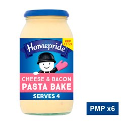 Homepride Pasta Bake Cheese & Bacon 450g