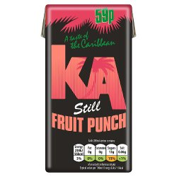 KA Still Fruit Punch Juice 288ml Carton, PMP 59p