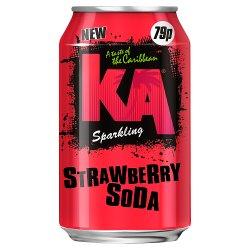 KA Sparkling Strawberry Soda 330ml