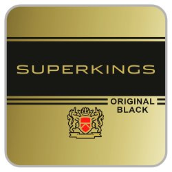 Superkings Original Black 20