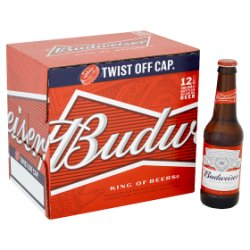 Budweiser Beer 12 x 300ml
