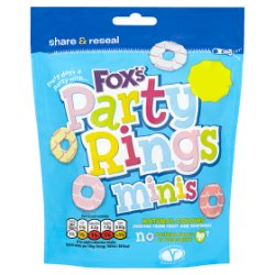 Fox's Party Rings Minis 110g