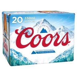 Coors Light Lager 20 x 330ml
