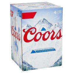Coors 4 x 568ml