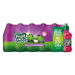 Robinsons Fruit Shoot Apple & Blackcurrant 24 x 200ml