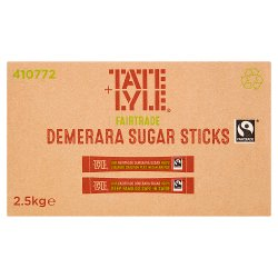 Tate & Lyle Fairtrade Cane Sugar Demerara Sticks 2.5kg