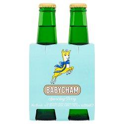 Babycham Original Refreshing Sparkling Perry 4 x 20cl