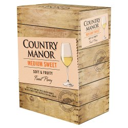 Country Manor Medium Sweet Finest Perry 3 Litre