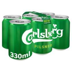 Carlsberg Pilsner 6 Pack
