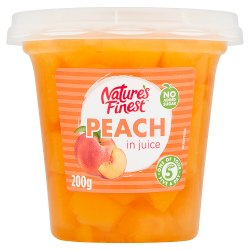 Nature's Finest Peach in Juice 200g