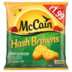 Mccains Hash Browns GBP1.99