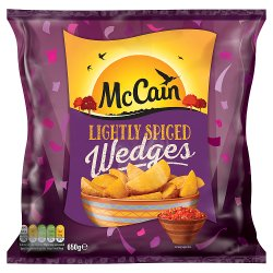 McCain Lightly Spiced Wedges 650g
