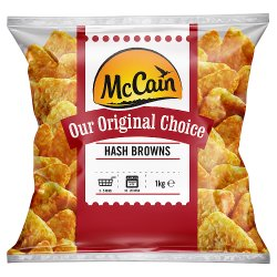 McCain Original Choice Hash Browns 1kg