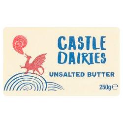 Castle Dairies Unsalted Butter 250g
