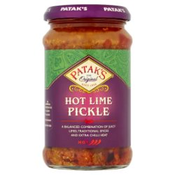 Patak's Hot Lime Pickle 283g