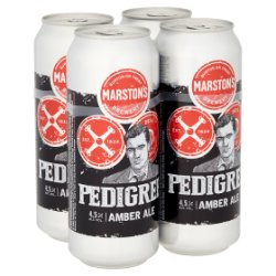 Marston's Pedigree Amber Ale 4 x 500ml