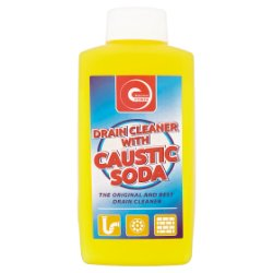 Essential Power Drain Cleaner with Caustic Soda 500g