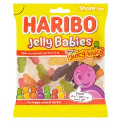 HARIBO Jelly Babies Bag 140g