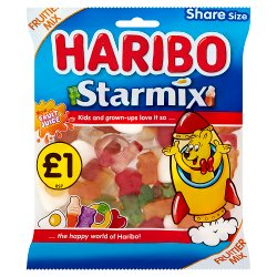 HARIBO Starmix Bag 160g £1PM