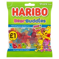 HARIBO Bear Buddies Bag 160g £1PM
