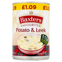 Baxters Favourites Potato & Leek 400g