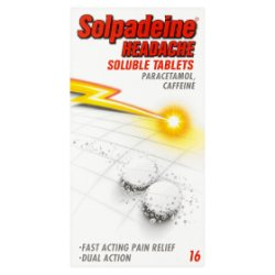Solpadeine Headache Soluble Tablets 16 Tablets