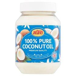 KTC 100% Pure Coconut Oil 500 ml (PET)