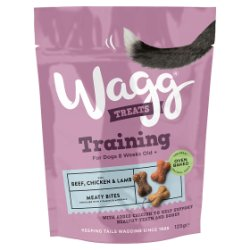 Wagg Training Treats with Chicken, Beef & Lamb 125g