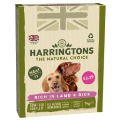 Harringtons Rich in Lamb & Rice Adult Dog Complete 1kg