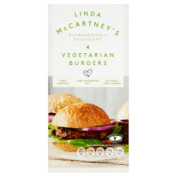 Linda McCartney's 4 Vegetarian Burgers 200g
