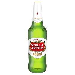 Stella Artois Belgium Premium Lager Beer 660ml