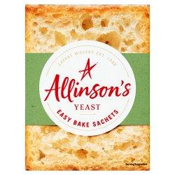 Allinson's Yeast 6 Sachets x 7g (42g)
