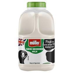 Müller Wiseman Dairies Pasteurised Semi-Skimmed Milk 1 Pint/568ml