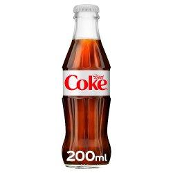 Diet Coke Glass 200ml