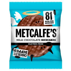 Metcalfe's Ricecakes Milk Chocolate 34g